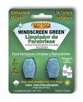 Dyno-tab® Windscreen Green® 2-tab Card - Spanish